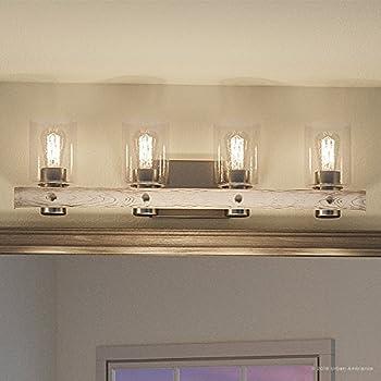 Luxury Modern Farmhouse Bathroom Vanity Light, Large Size ...