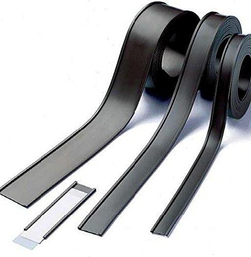 venduto al 50m rotolo Etichette magnetiche per scaffalature e arredi metallici Profili a C // etichette magnetiche larghezza 40 mm