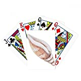 Snail Marine Life Colorful Illustration Poker Playing Card Tabletop Board Game Gift