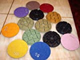 3'' Inch Typhoon Set of 27 Pieces (super thick: 10mm Thick) FREE SHIP Diamond Floor Counter top renew polishing pad disc travertine granite marble concrete cement