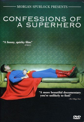 DVD : Confessions Of A Superhero (Widescreen, Subtitled)