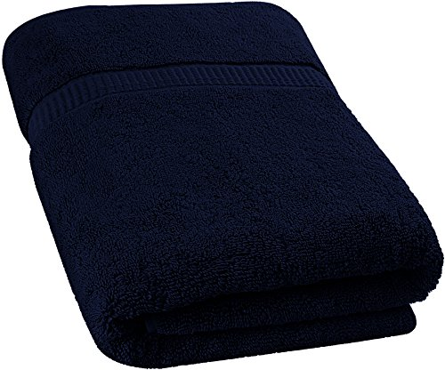 Luxury Bath Sheet Towel (Blue; 35 x 70 Inch) Cotton Extra Large Beach Bath Towels, Machine Washable, Hotel Quality, Super Soft and Highly Absorbent Towels By Utopia Towels