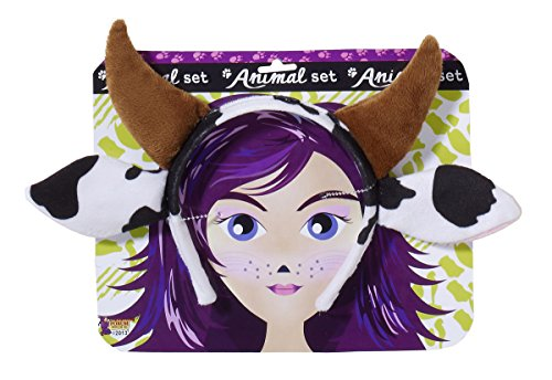 [Forum Novelties Playful Animals Cow Costume Accessory Set] (Women Cow Costumes)