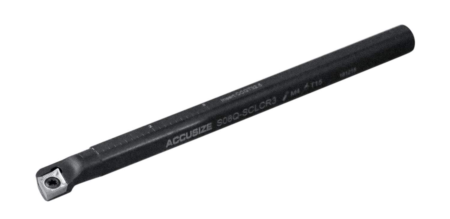 Right-hand Sclcr Indexable Boring Bar with 1//2 by 7 Overall Length