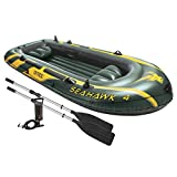 Intex Seahawk 4, 4-Person Inflatable Boat Set with Aluminum Oars and High Output Air Pump (Latest Model) Review