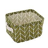 Sannysis Foldable Storage Bin Closet Toy Box Container Organizer Fabric Basket