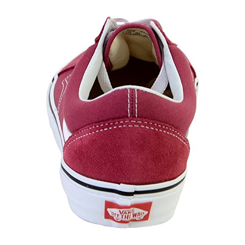 True White Skool Dry Rouge Vans Rose Old ZIZqp