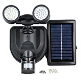 Y-SOLAR Solar Lamp Motion Sensor LED Flooded Garage Lights 38 LED Solar Energy Parking Power Rechargeable Emergency Light Security Spot