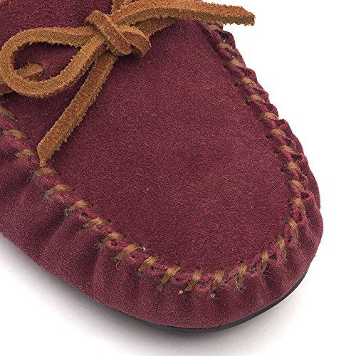 Zapatillas Wake Mocasines para Suft Clarks Berry Me Fur mujer Suede rUvrY