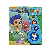 Nickelodeon Bubble Guppies - Let's Rock! Little Music Note Sound Book - PI Kids