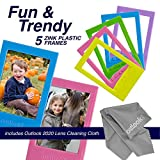 Zink 60 PK Photo Paper and Frames Bundle - Sticker