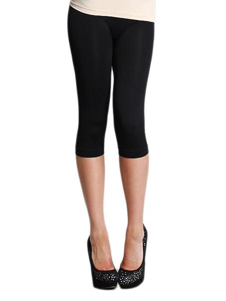 76364f84c5608 Nikibiki Capri Leggings with Free Bandeau and Shipping (One Size, Black)