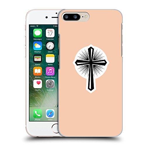 GoGoMobile Coque de Protection TPU Silicone Case pour // Q09360604 Croix chrétienne 46 Abricot // Apple iPhone 7 PLUS