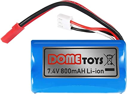 HBX RC Car Charger Apply For 18859E Rechargeable Li-ion Battery 7.4V 650mAh