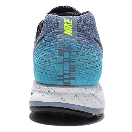 Laufschuhe volt Fog Air gamma Blau Pegasus Nike 33 Damen Blue Zoom Ocean Schwarz Black FqxzXO