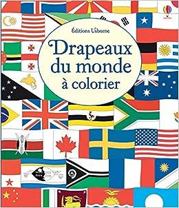 Drapeaux Du Monde à Colorier Amazonfr Susan Meredith Ian