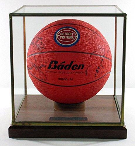 1992-Detroit-Pistons-Signed-Basketball-Rodman-Thomas-Dumars-Daly-Aguirre-5-Autos-Autographed-Basketballs