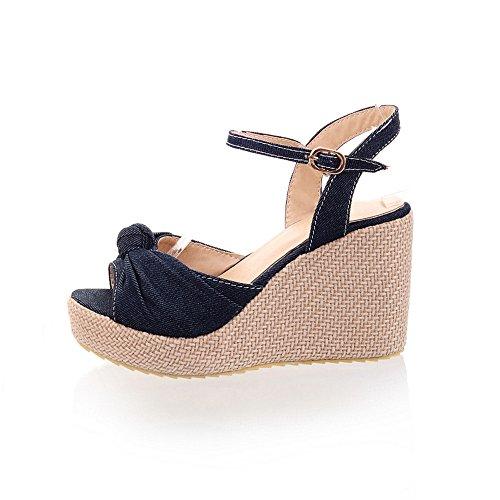 Fashion Heel - Zapatos de tacón  mujer azul oscuro