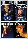 Van Damme Action Pack Quadruple Feature (Timecop / Hard Target / Street Fighter / The Quest)