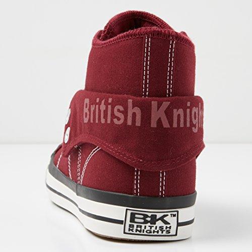 British Knights Roco, Zapatillas Altas para Hombre Rot