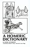 img - for A Homeric Dictionary for Schools and Colleges by Georg Autenrieth (1976-07-15) book / textbook / text book