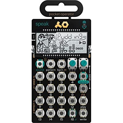 Teenage Engineering PO-35 Speak Pocket Operator Vocal Synthesizer by Teenage Engineering