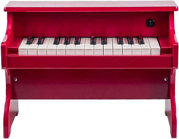 LIUFS-El teclado Tablero de madera para niños, de 25 teclas ...