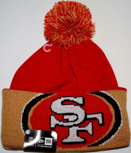 San Francisco 49ers New Era NFL Major Cuff Cuffed Knit Hat