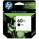 Genuine Original New HP 60 XL (CC641WN) High Yield Black Ink Cartridge