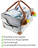 Baby Diaper Caddy Organizer - Extra Large Storage