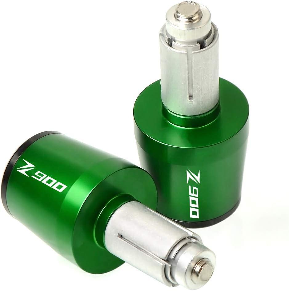 Motorcycle Handlebar End Caps Bike Handlebar Plugs for Kawasaki Z250 Z300 Z400 Z650 Z750 Z800 Z900 Z900RS Z1000-Black