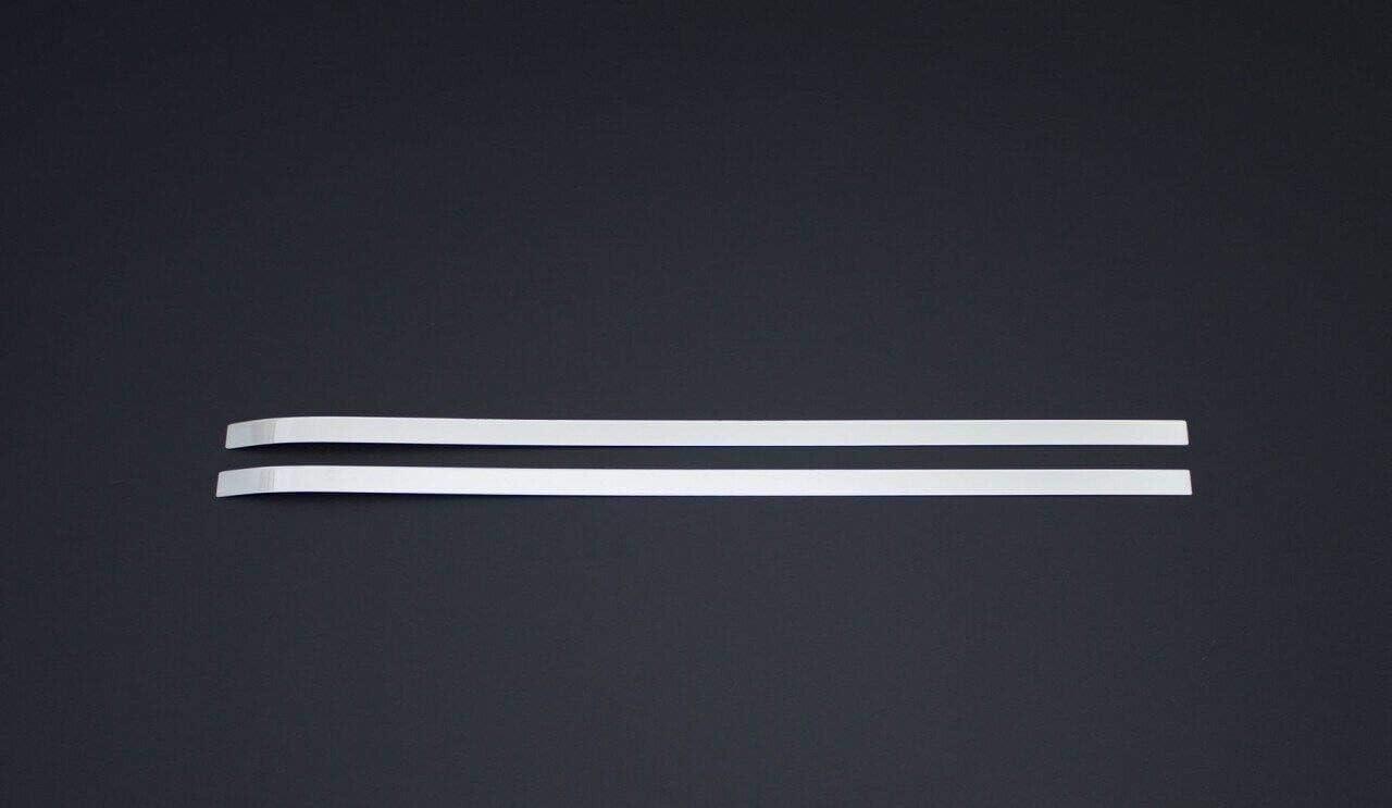 2008-2018 Chrome Rear Side Sliding Door Rail Trim Fits Berlingo//Partner Tepee