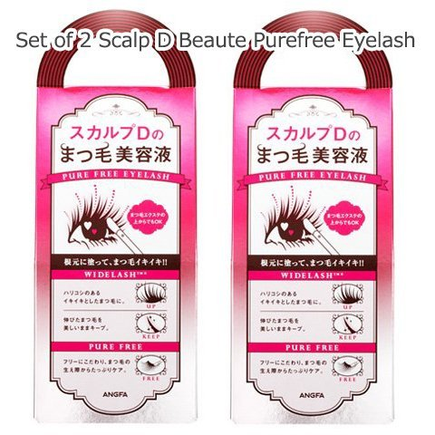 Set of 2 SCALP D Scalp D Beaute Purefree Eyelash (Japan Import)