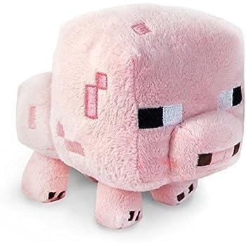 BEISTE 7-Inch Minecraft Animal Pig Plush Toy