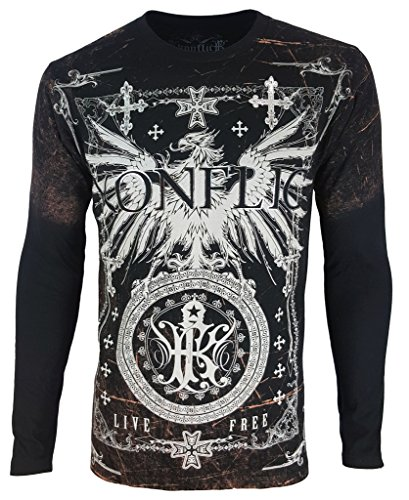 Konflic Men's Special Edition Designer's (Editions Long Sleeve Shirt)