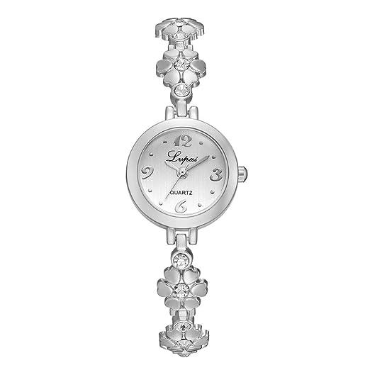 Moretime Lvpai Moda de Acero Inoxidable Malla Reloj Casual Cuarzo Reloj analógico Talla única C: Amazon.es: Relojes