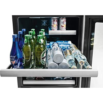 Electrolux EI24BC10QS 24 Inch Wide Energy Star Rated Undercounter Beverage Refri,