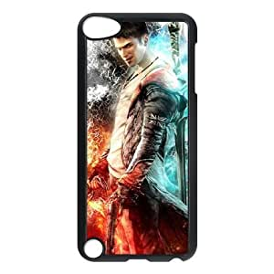 Devil May Cry 5 funda iPod Touch 5 caja funda del teléfono celular negro cubierta de la caja funda EEECBCAAB10825