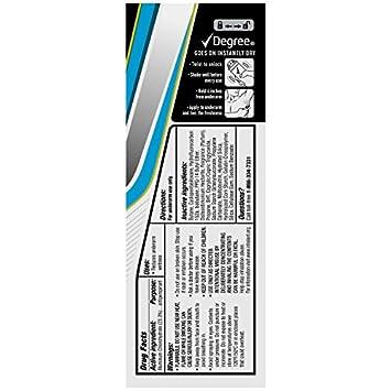 Degree Men MotionSense Antiperspirant Deodorant Dry Spray, Cool Rush, 3.8 Ounce Pack of 3