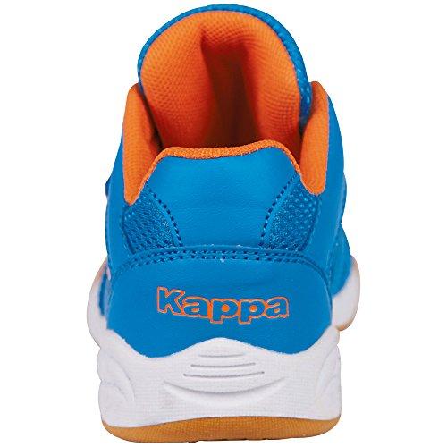 Kappa Kickoff Kids - Zapatillas Unisex Niños Azul (6044 Blue/orange)