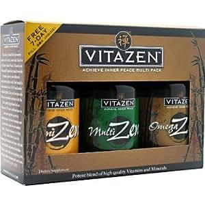 Baby / Child Vitazen 30 Day Zen-Pak (Multizen, Omegazen, And Cognizen) - Achieve Inner Peace Balance Mind & Body Infant