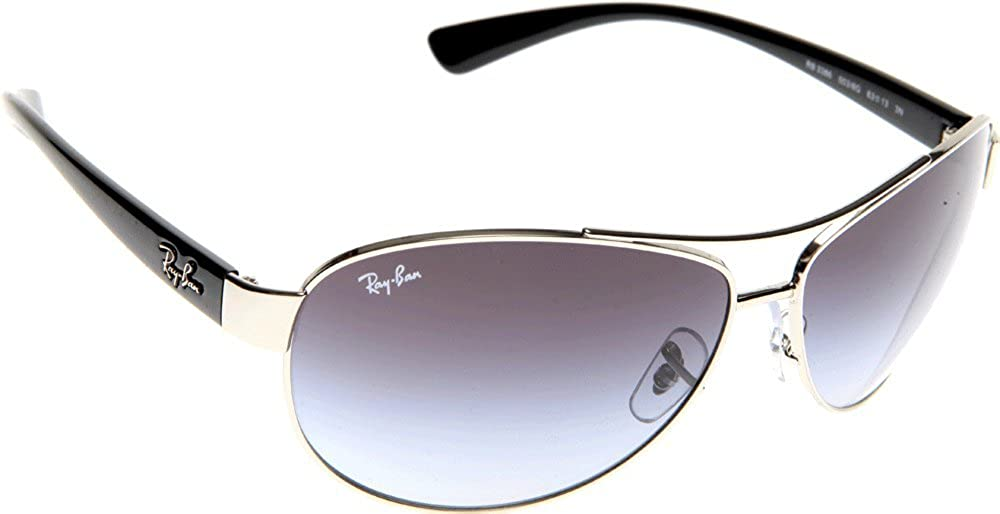 Amazon.com: Ray-Ban RB3386 003/8G 67 Gafas de sol unisex ...