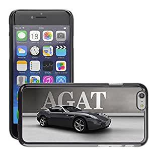 CARZZ Prima Delgada SLIM Casa Carcasa Funda Case Bandera Cover Armor Shell PC / Aliminium //Exotic Supercar z car //Apple Iphone 6 Plus 5.5