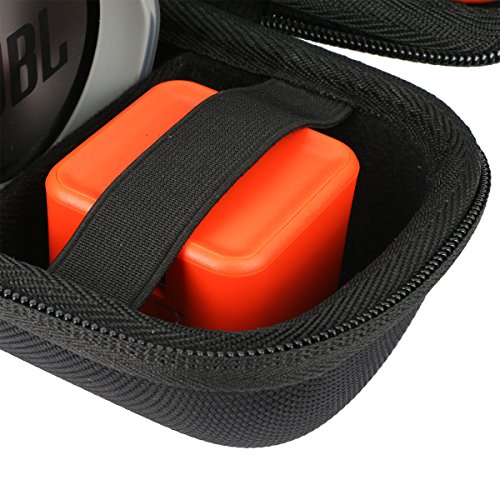 Khanka Carrying Case for JBL Charge 3 Waterproof Portable Wireless Bluetooth Speaker. Extra Room for Charger and USB Cable