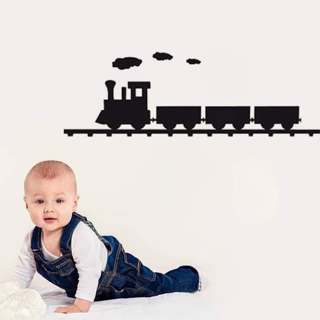 Wall Stickers - Steam Train Transportation Ways Wall Sticker ...
