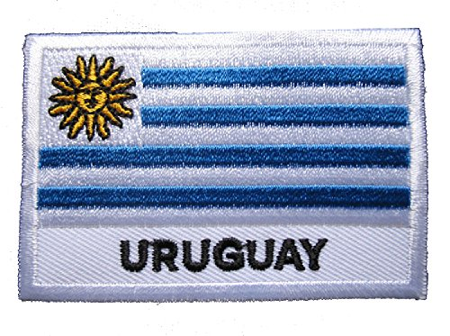 Oriental Republic of Uruguay National Flag Sew on Patch Free (Uruguay Flag Patch)