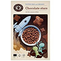 Doves Farm Organic Chocolate Stars 375 g (Pack of 4)