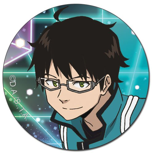 Great Eastern Entertainment World Trigger Osamu Button 16503 1.5 1.5/'/' Great Eastern Entertainment Inc