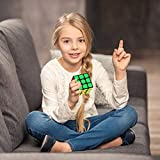 Speed Cube Set, Apfity Magic Cube Bundle 3x3x3 Cube Sticker & Stickerless Puzzle Cubes Collection Toy for Kids