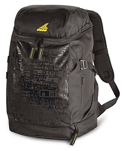 Rollerblade Urban Backpack, Inline Skating, Multi Sport, Bag, Black and Grey